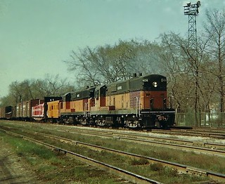 Milwaukee Road  power  Fairbank Morse Baby Train  Masters. | by Chicago Rail Head