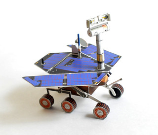 mars rover papercraft - photo #10