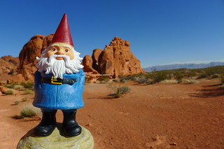 Travelocity Gnome Valley of Fire | by Cory Gurman