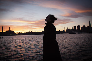 Woman on the East River - Greenpoint, Brooklyn | by ChrisGoldNY