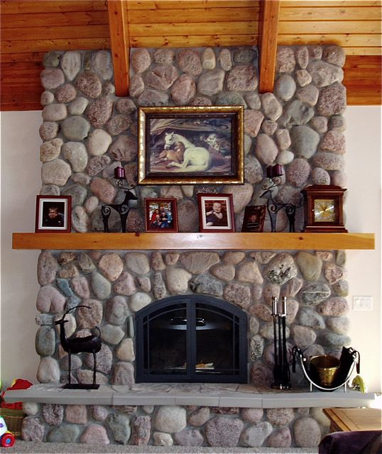 Fieldstone Fireplace Www Northtwinbuilders Com North Twin