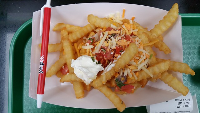 2016-Jun-9 Church's Chicken - salsa fries