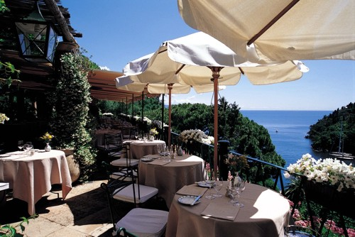 La Terrazza Restaurant Terrace at Hotel Splendido | Travelive Photos ...