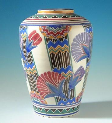 Poole Pottery Vase Designed By Truda Carter 1930s 14 Flickr