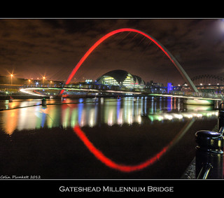 Gateshead Millennium Bridge | by Colin Plunkett