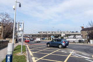 Tram Crossing Bridge In Dundrum | by infomatique