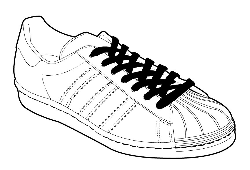 adidas shoes drawing. adidas sneakers template shoes drawing n