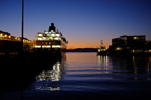 Kong Harald am Hafen in Bergen | by mischahr