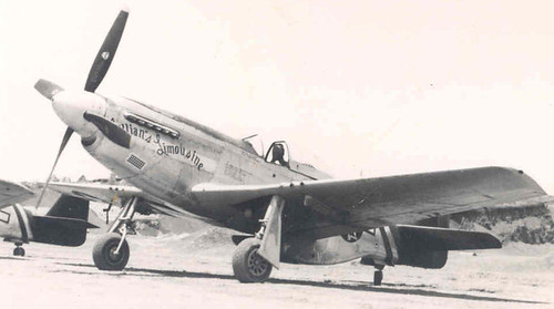 "North American P-51K ""Mustang"" ""Lillian's Limousine"" flown ...