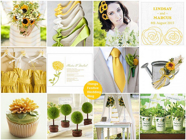Sunflower wedding theme in green and yellow visit things f flickr sunflower wedding theme in green and yellow by soo12 junglespirit Images