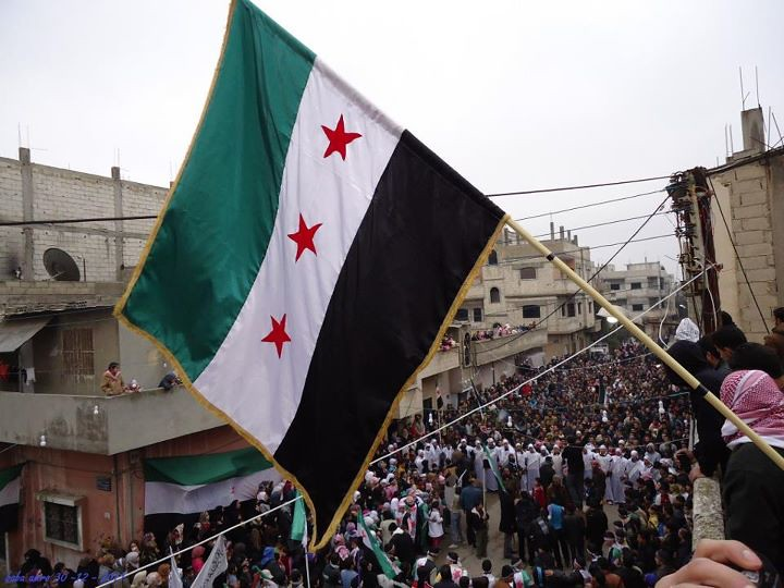 Syria Flag Syria Flag Freedom House Flickr - Syria flag