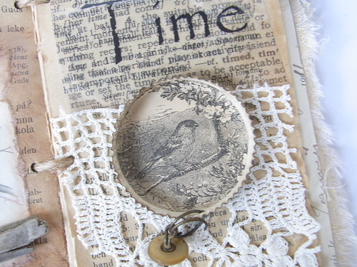 altered book page 1 | by tinajensenArt