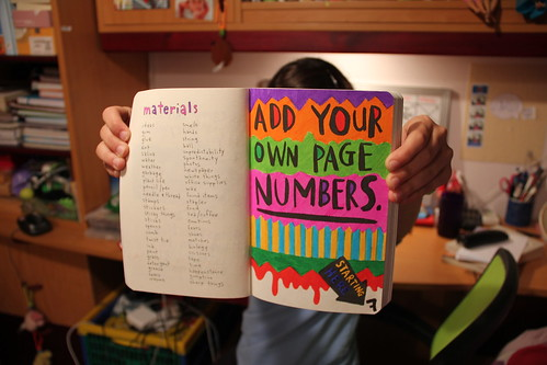 how to add page numbers starting on page 3