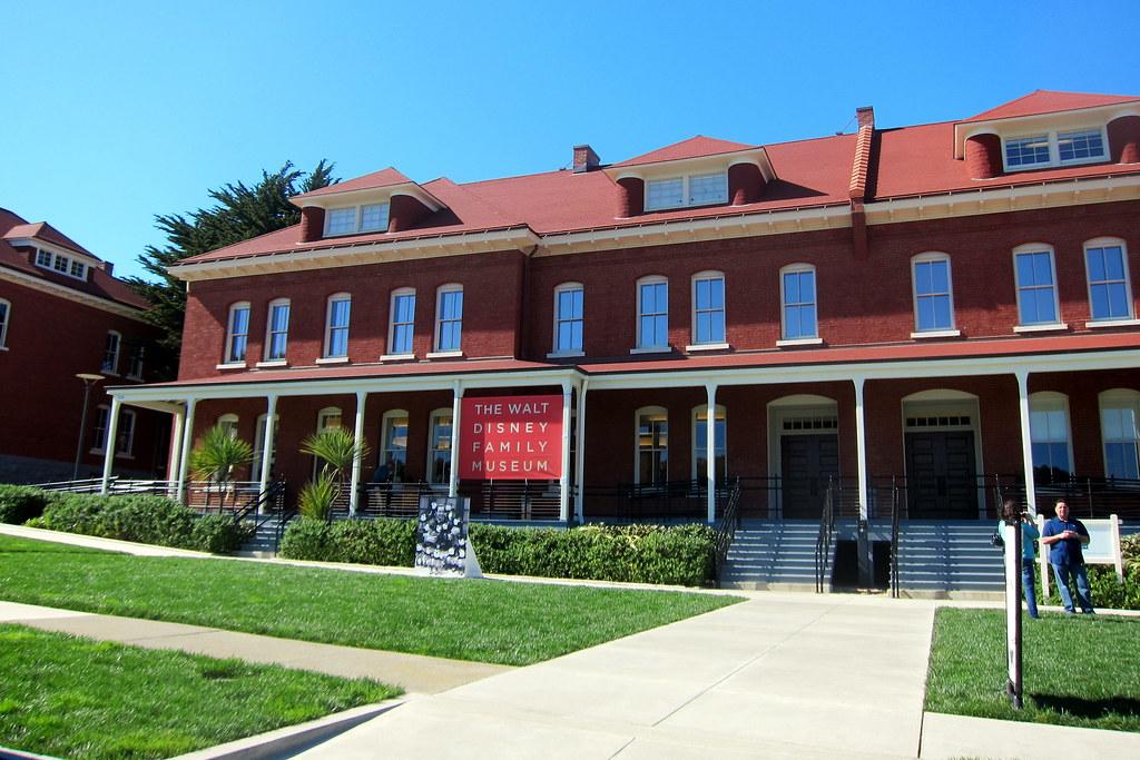 San Francisco Presidio Walt Disney Family Museum Flickr