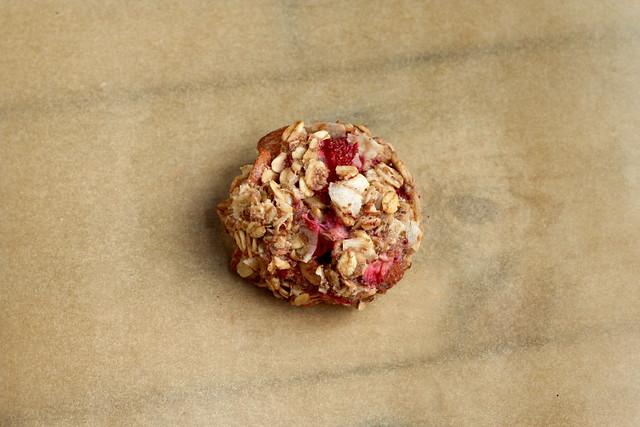 Strawberry Coconut Breakfast Cookies - Gluten-free + Vegan