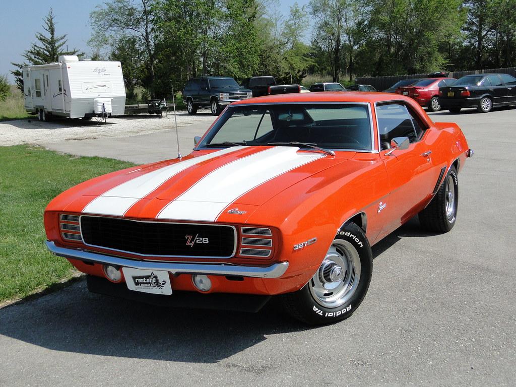 314 69 Camaro Hugger Orange 4 Spd Flickr