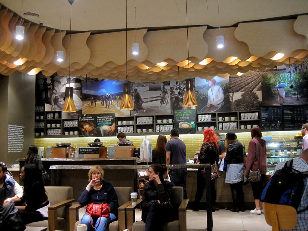 Starbucks Coffee   starbucks bar and interior design, graphi…   Flickr