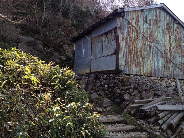 石鎚山 表参道 一の鎖小屋