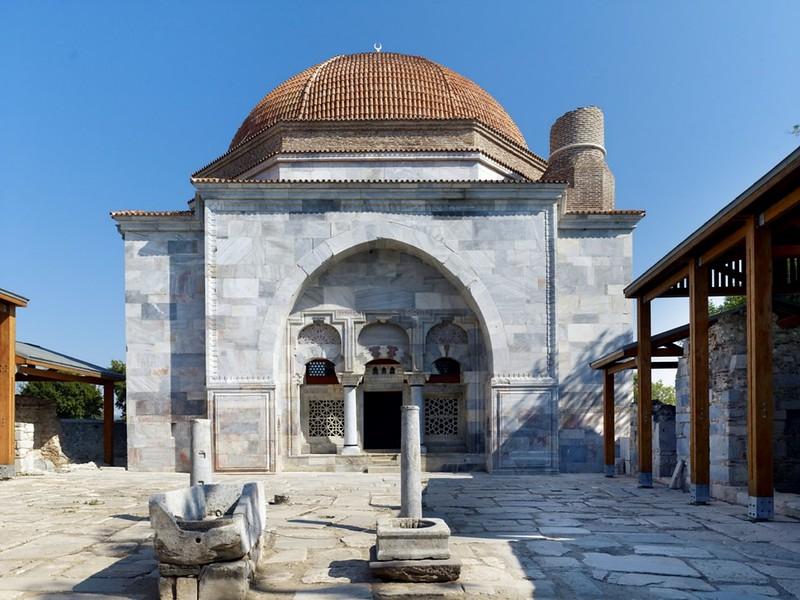 Miletos Ilyas Bey Complex, Balat, TURKEY