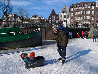 prinsengracht-ice-skating 2 | by Henry @ WorkCycles
