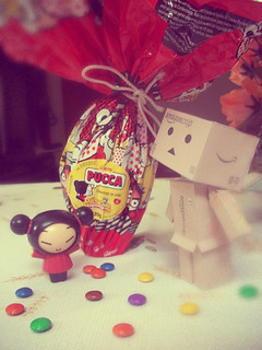 Pucca and Dambo discovering Easter's World! | by Priscillaa B.