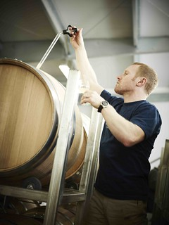 Poplar Grove Winery - Winemaker Stefan Arnason in action | by scout.magazine