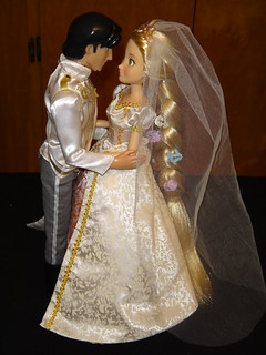 tangled ever after flynn rider and rapunzel 12 wedding d