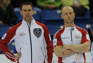 Brad Gushue and Ryan Fry | by seasonofchampions