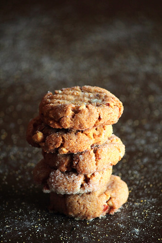 Peanut Butter Cornmeal Cookies | by pastryaffair