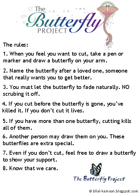 The butterfly project 7 rules for dating