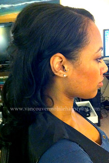 mixed-race-wedding-updo-african-indian | by vanmobilehair