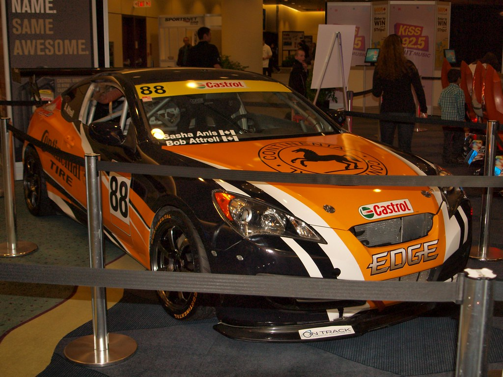 Hyundai Genesis Coupe Race Car Cias 2012 Michael Flickr