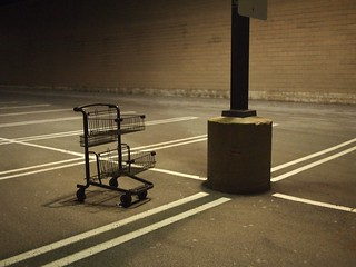 Day 66/366: 3/6/12 - Lone Frankencart | by memsphere