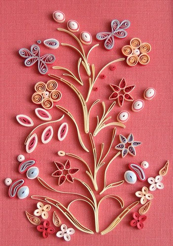 Quilled Ojibway Design | by all things paper