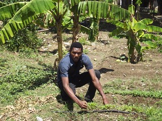 Orphanage Bon Berger & HRI trained Garden Specialist | by Hunger Relief Intl