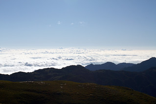 Taiwan / Taitung / mountains & a sea of clouds / altitude of 3400 meters | by calvin89