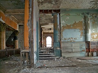 Abandoned Hotel Sterling: Some (dis)Assembly Required | by Cheri Sundra: Guerrilla Historian
