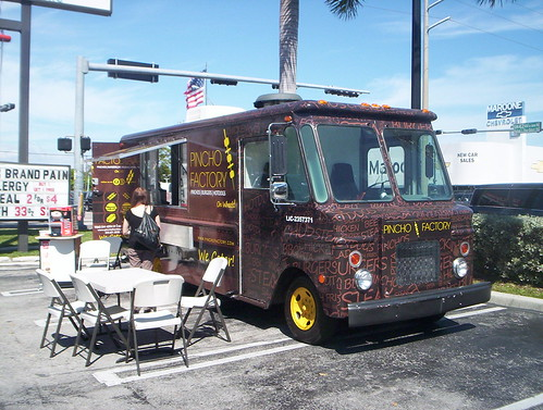 Miami Food Truck Map