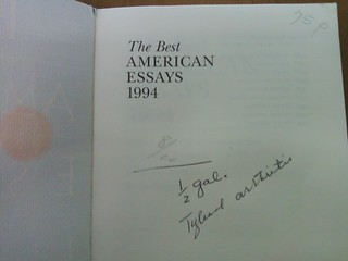 Best american essays list