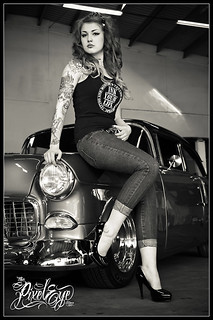 Victoria van Violence & the 1955 Bel Air VI (2012) | by THE PIXELEYE // Dirk Behlau