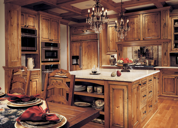 Beau ... Falmouth Solid In Rustic Alder #235 | By Canyon Creek Cabinet Co