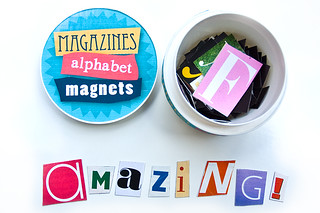 Magazines Alphabet Magnets*** | by ::sämyii::