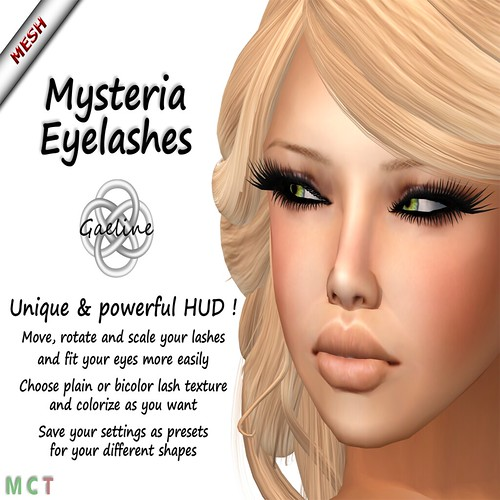 WONDERFUL MESH LASHES WITH HUD ! | by mimi.juneau *Mimi's Choice*