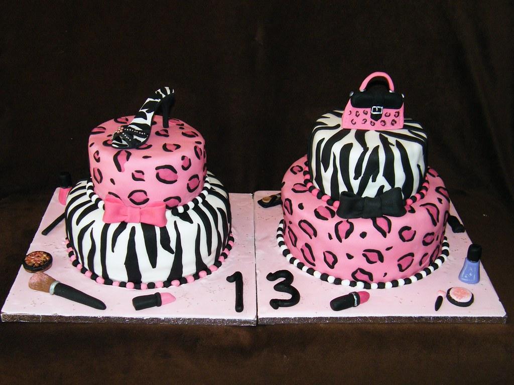 Twins Birthday Cake Eldriva Flickr