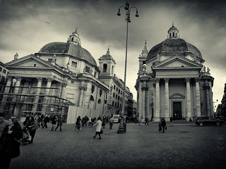 the twin churches (Roma) photodrummer84 | by photodrummer84