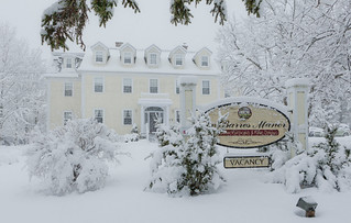 DesBarres Manor Inn in the Snow | by Authentic Seacoast Company