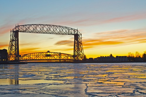 Lake Superior Sunrise | by ajburcar