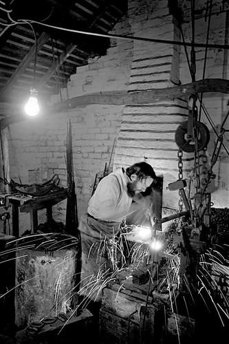 Backyard Chainshop Black Country Museum 1979 Don Payne