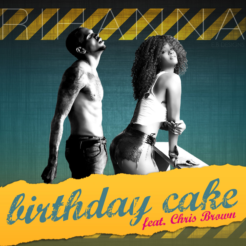 Astounding Birthday Cake Rihanna And Chris Brown Choice Image Birthday Cake Funny Birthday Cards Online Alyptdamsfinfo