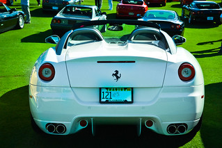 White Aperta | by Winning Automotive Photography